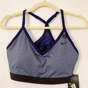 Nike Women's Indy Sports Bra Blue NWT Size XL